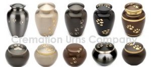 Pet cremation ashes urns