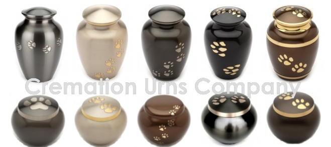 Pet ashes urns